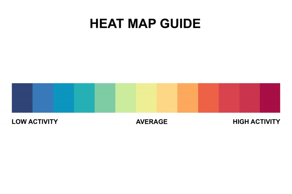Using heat mapping to build and design a strategic website